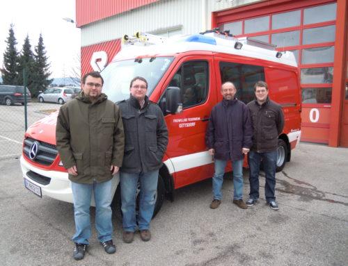 Neues Feuerwehrauto abgeholt 23.02.2012