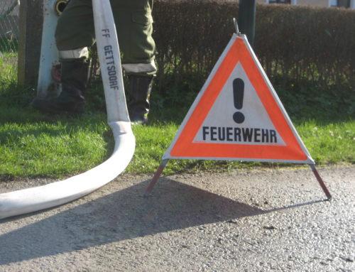 Auspumparbeiten und Hydrantenüberprüfung in Hollenstein 10.06.2016
