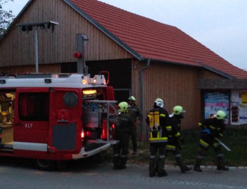 Feuerwehrübung und Überprüfung 16.09.2016