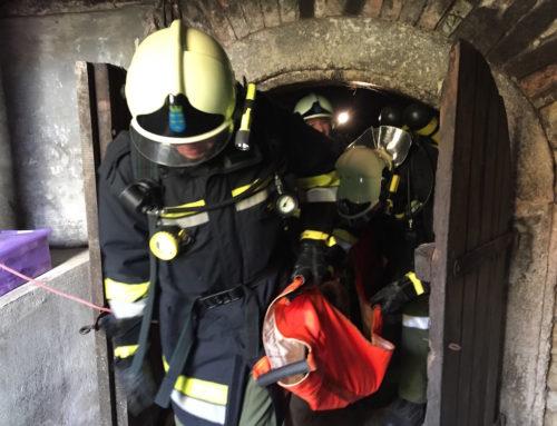 Feuerwehrübung Gärgasunfall & Löschleitung 10.10.2016